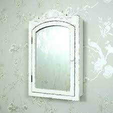 mirrored wall cabinet. Mirrored Wall Cabinet Mirrors Shabby Chic Cream Ornate