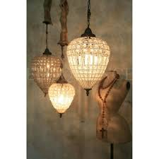 Vintage Lighting Reproduction Antique Reproduction Beaded Chandelier Hand Strung In