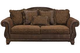Bradington Truffle Sofa from Ashley Furniture