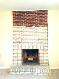fireplace painting ideas paint how to a brick image best painted stone white painted brick fireplace ideas