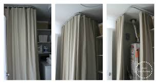 image of new ikea ceiling curtain track