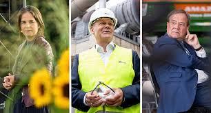 Drei kandidaten fürs kanzleramt trafen sich im tv zum duell. Bundestagswahl 2021 Wann Und Wo Laufen Die Kanzlerkandidaten Trielle Der Spiegel