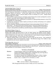 It Consultant Resume Ex Network Manager Management Consulting Resume