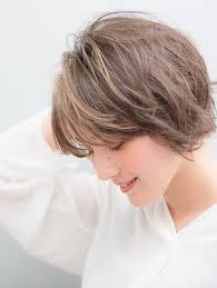 Minx清水大人女子小顔ショートボブ Minx 青山店ミンクスのヘア