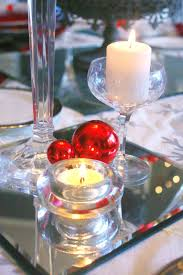 red and silver table decorations. Red \u0026 Silver Christmas Table Setting Craft Thyme And Decorations E