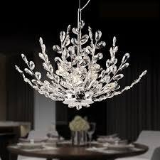 crystal branch chandelier intended for cur zyy modern led crystal chandelier branch crystal design bedroom