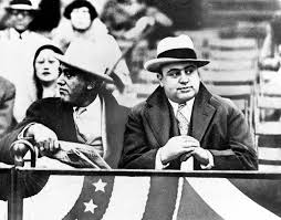 al capone attending the notre dame vs northwestern football game  al capone attending the notre dame vs northwestern football game in evanston illinois 10 1931