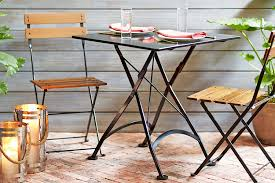 28 inch square steel outdoor folding table with chairs s113 french bistro square outdoor