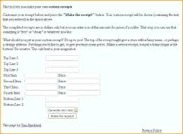 Free Receipts Online Free Printable Cash Receipts Online