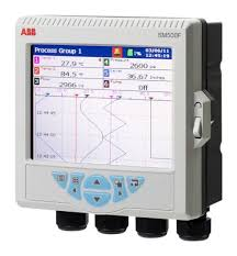 Abb Chart Recorder Commander 1900 Manual Abb Sm503fc B000010e Std 3 Channel Graphic Recorder Measures Current Resistance Temperature Voltage