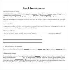 Lease Addendum Template Printable Sample Rental Agreement Alberta ...