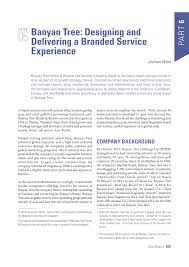 Banyan Tree Designing And Delivering A Branded Service Experience Pdf Banyan Tree Designing And Delivering A Branded Service