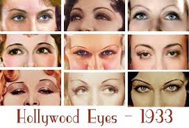 1930s beauty and style hollywood eyes2