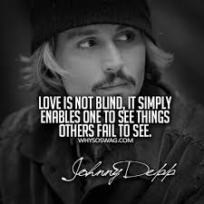 Johnny Depp Quotes About Love Impressive Famous Love Quotes By Johnny Depp Golfian