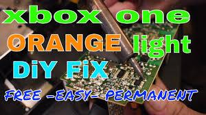 Xbox One Orange Light Free Easy Xbox One Orange Light Fix