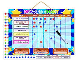 Magnetic Reward Chart Dry Erase Learning Toy Chore Chart Or Task Planner Encourage Good Behaviour And Responsibility Big Buttons For Tiny