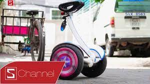 Schannel - Dùng thử xe điện tự cân bằng Xiaomi Ninebot: Thay đổi cách di  chuyển trong tầm ngắn - YouTube