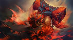 artstation dota2 wings of the red flame loading screen alpharde r