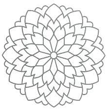 Print Mandala Coloring Pages Math Worksheets Multiplication