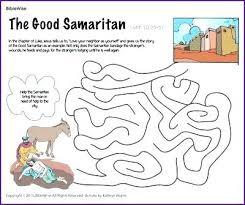 Coloring Page Good Samaritan Good Coloring Pages Sunday School