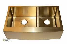 Stainless Steel Handmade Color Kitchen Sink Ac2002 Gold Color Mazi