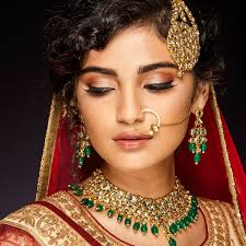 an all simple bridal makeup look