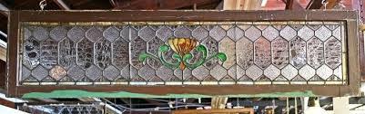 leaded glass transom windows arts crafts transom w textured glass antique stained glass transom windows
