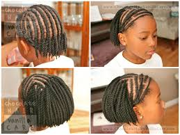 Short Crochet Hair Style short yarn crochet twists with bangs and protected edges tutorial 1779 by wearticles.com