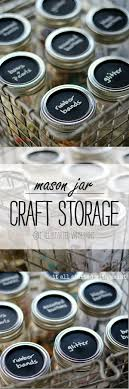 Crafts With Mason Jars The 25 Best Mason Jar Storage Ideas On Pinterest Mason Jar