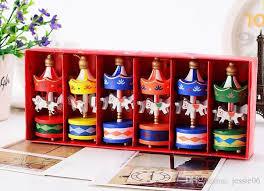 Beer Box Decorations Vintage Wood Carousel Horse Christmas Tree Pendant Hanging 78