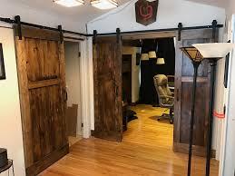Sliding Doors For Bathroom Entrance Barn Door Bedroom Privacy Closet ...