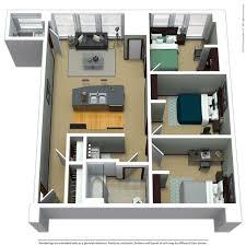 3 bed 1 5 bath 750 sq ft