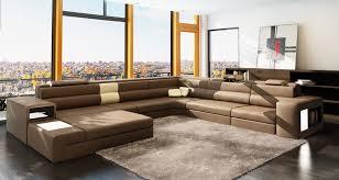 Elegant contemporary furniture Sofa Furniture Accessoriesu Shaped Brown Modern Leather Sectional Sofa Modern Italian Leather Sectional Sofa Contemporary Bgfurnitureonline Furniture Accessories Shaped Brown Modern Leather Sectional Sofa