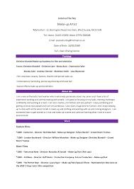 resume format for makeup artist template resume format for makeup artist