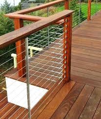 deck railings designs custom railing wood regarding ideas decorations 12