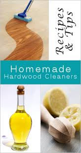 homemade cleaning recipe for wood floors