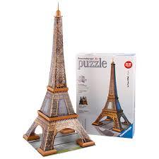 Puzzle 3d Eiffelova Věž 216 Dílků Hras
