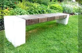 concrete garden bench modern outdoor ideas medium size concrete garden benches bench design table and decorative