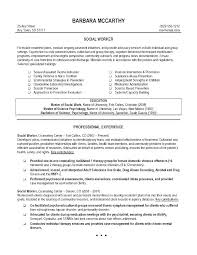 Cover Letter For Social Work Position Community Worker Template