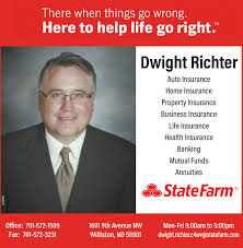WEDNESDAY, OCTOBER 9, 2019 Ad - State Farm - Dwight Richter ...