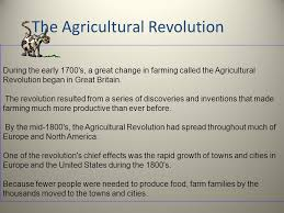 agricultural revolution essay agricultural revolution essays the agricultural revolution impacts the agricultural revolution timeline causes inventions effects video lesson