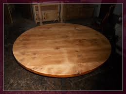 48 round unfinished wood table tops