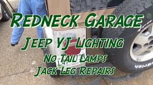 yj wrangler no tail lights wiring gremlin jack leg repairs yj wrangler no tail lights wiring gremlin jack leg repairs