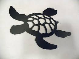 amazon turtle swimming silhouette black metal wall art home decor home kitchen on black metal wall art amazon with amazon turtle swimming silhouette black metal wall art home