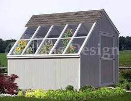 details about 10 x 10 greenhouse backyard garden shed plans material list included 41010