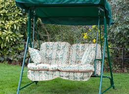 alfresia luxury garden swing seat cushions 2 seater