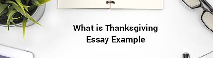 writing blog essay on thanksgiving day