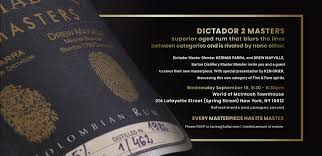 Zaproszenie Dictador 2 Masters