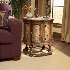round accent table ideas beautiful round accent table home accent table with storage