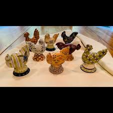 Tracy Porter Accents | Tracey Porter 203 Ceramic Chickens Set Of 8 |  Poshmark